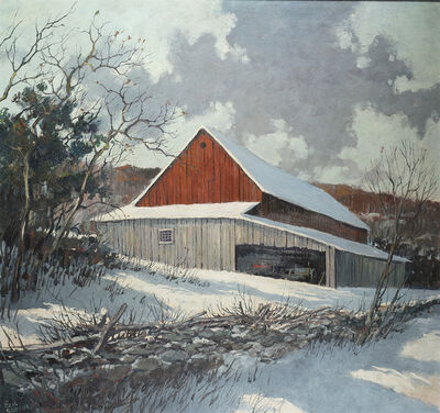 Eric Sloane, 'Winter Morning', Date Unknown