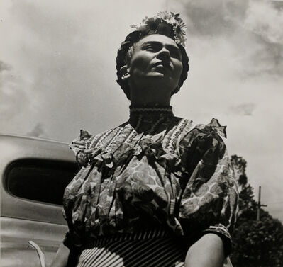 Leo Matiz, 'Frida Kahlo with car', 1946 [printed 1997]