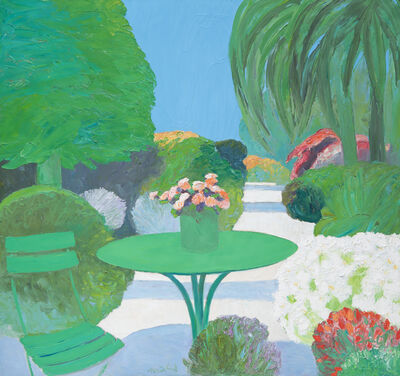 Roger Muhl, 'Jardin a Cannes', ca. 2000