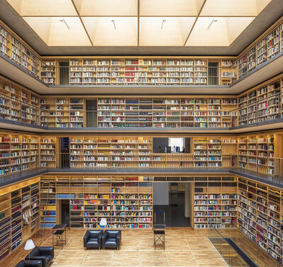 Reinhard Gorner, 'Study Center, Duchess Anna Amalia Library, Weimar, Germany', 2017