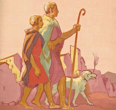 Maurice Denis, 'Le Livre de Tobie, Traduit sur la Vulgate.Illustrations de Maurice Denis, Gravées sur bois par Jacques Beltrand', 1929