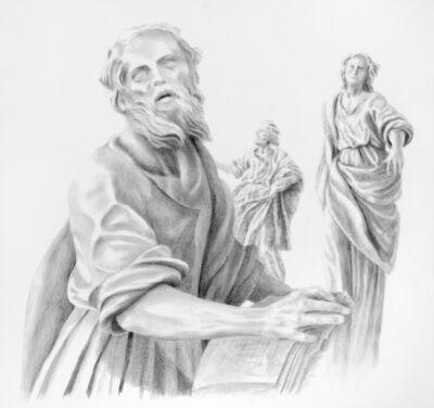 Walter Hatke, 'Vienna Saints II', 2020