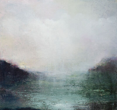 Gareth Edwards, 'Viridian Bay, First Light', 2020