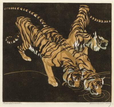 Norbertine Bresslern-Roth, 'Tiger', 1923