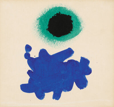Adolph Gottlieb, 'Black Disc', 1969