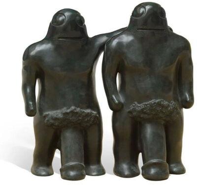 Bjarne Melgaard, 'Brothers with three legs', 2010