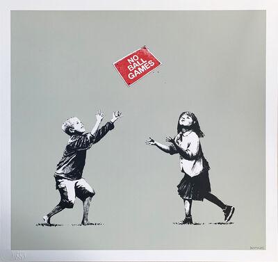 Banksy, 'No Ball Games (Grey)', 2006