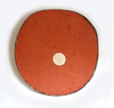 Otis Jones, 'Red Oxide with Coffee Circle', 2019