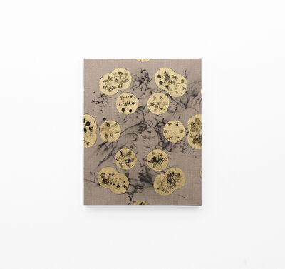 Pierre Vermeulen, 'Hair orchid sweat print, black in geometry on hair orchid sweat print drawing', 2018