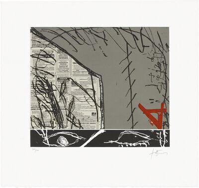 Antoni Tàpies, 'Cosit', 2005
