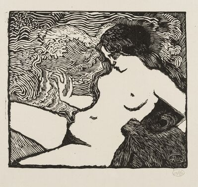 Aristide Maillol, 'La Vague (Guerin 8)', 1895-98