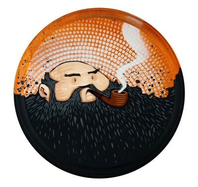 Jeremy Fish, 'Smoking Dude', 2005