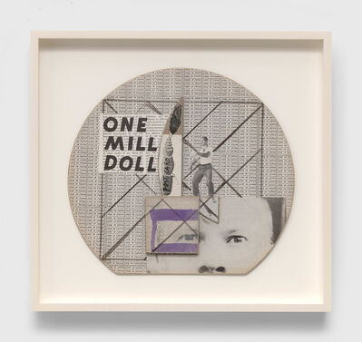 Ray Johnson, 'Untitled (One Mill Doll)', n.d.