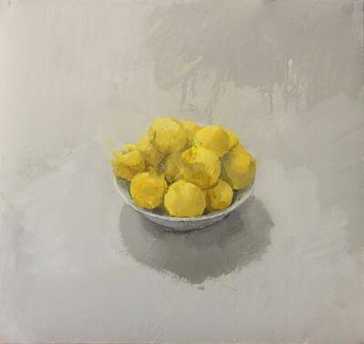 """Alberto Romero, '""""Cuenco con ciruelas amarillas""""', 2017"""