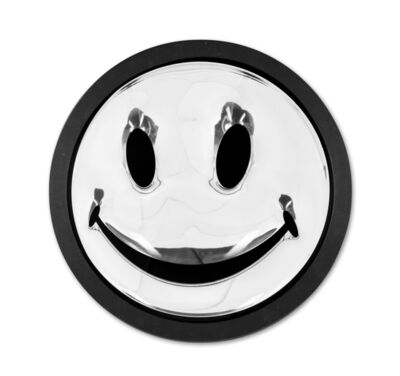 Ryan Callanan, 'Silver Smiley', 2015