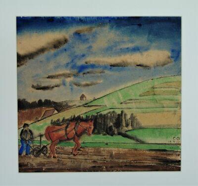 Carl Grossberg, 'Aquarell', 1922