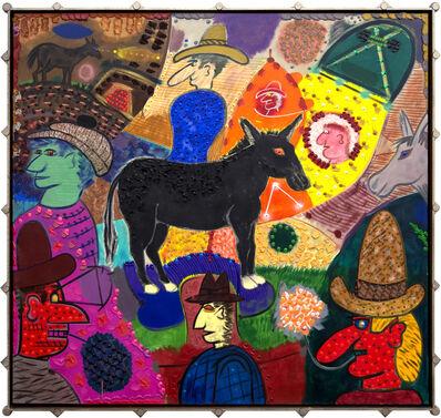 Roy De Forest, 'Jackass Blues', 2002