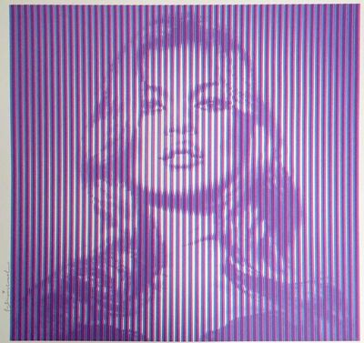 Mr. Brainwash, 'Kate Moss (Purple)', 2016