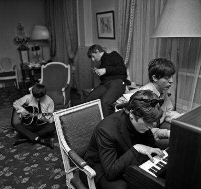 Harry Benson, 'Beatles Composing #1, Paris', 1964