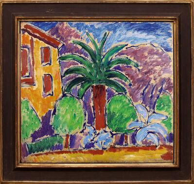 Alexej von Jawlensky, 'House with palm tree', 1914