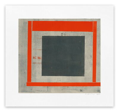 Elizabeth Gourlay, 'Slate red ash 2 (Abstract print)', 2013