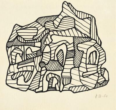 Jean Dubuffet, 'Église II', 1964