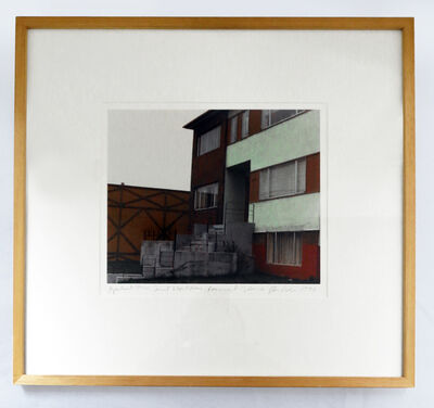 Dan Graham, 'Apartment House, Vancouver B.C.', 1975