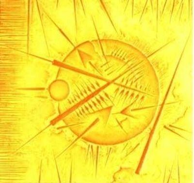 Arnaldo Pomodoro, 'Graphic Works - Yellow', 2008