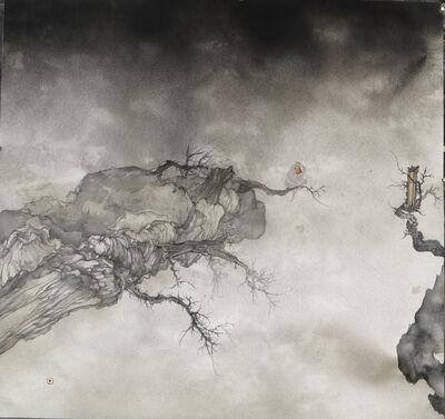 Zhenhua He, '转山系列 - 之二十二', 2016