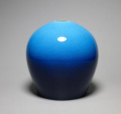 Yoshiro Kimura, 'Vase with Blue Glaze', 2018
