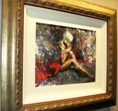 Henry Asencio, 'Henry Asencio Exhilaration Original Oil on Board Painting Contemporary Art ', 2008