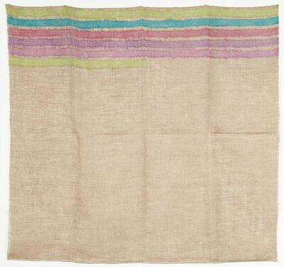 Giorgio Griffa, 'Horizontal lines', 1973