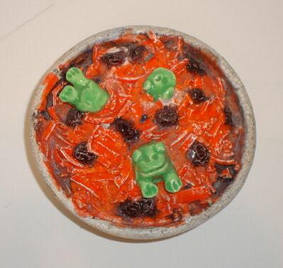 David Gilhooly, 'Frog Carrot Salad', 1963