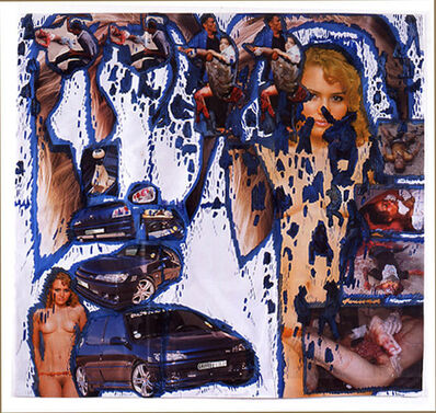 Thomas Hirschhorn, 'Dessin jaloux, Peugeot', 2006
