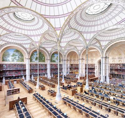 Candida Höfer, 'La Salle Labrouste - La Bibliothèque de L'INHA Paris III 2017', 2017