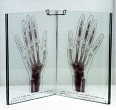Esther Ferrer, 'Las manos de la artista (Serie: el libro de las manos)', 1993
