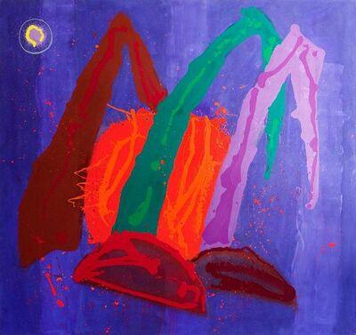 John Hoyland, 'New Born Sun (Rising)', 1995