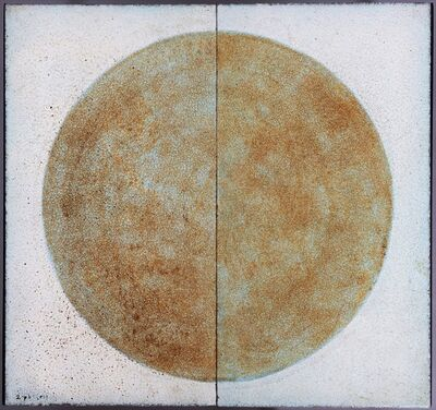 """les 2 Potiers, 'Table """"Lune""""', 1962"""