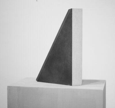 Giuseppe Uncini, 'Ombra di due parallelepipedi T. 11', 1976