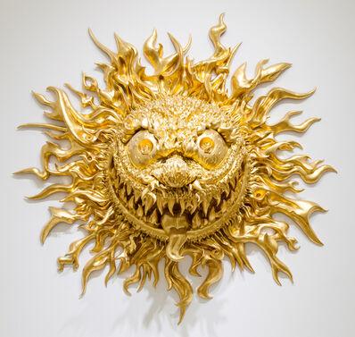 Tony Tasset, 'Angry Sun', 2018