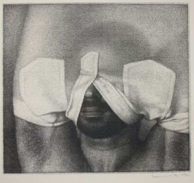 Michael Leonard, 'Man Undressing', 1991