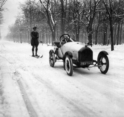 Jacques Henri Lartigue, 'Francis Pigueron, Bois de Boulogne, Paris, France', 1916