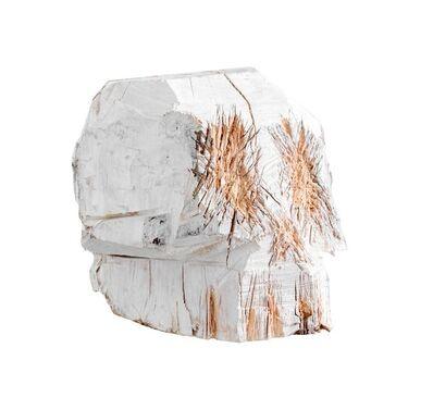 Nestor Engelke, 'Wooden skull', 2020