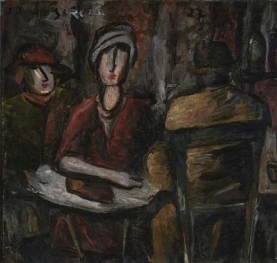 Joaquín Torres-García, 'Café Scene', 1927