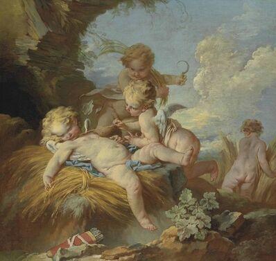 François Boucher, 'L'Amour moissonneur'