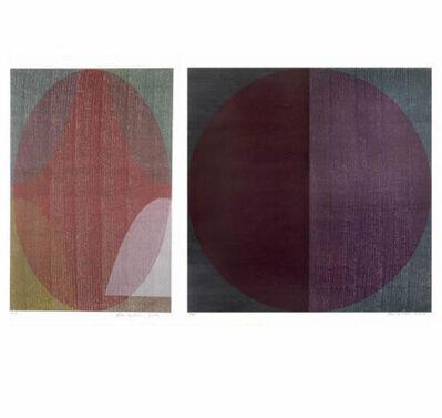 Sam Gilliam, 'Lilly's Print (center)', 2001