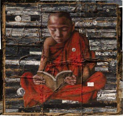 Gao Zengli, 'Monk', 2009