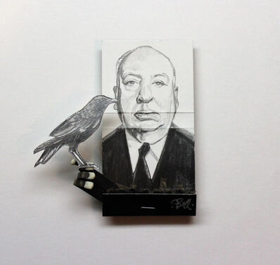 matchbox artists, 'Alfred Hitchcock', 2016
