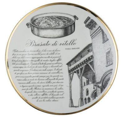 Piero Fornasetti, 'Fornasetti's Plate - Brasato ', 1960s