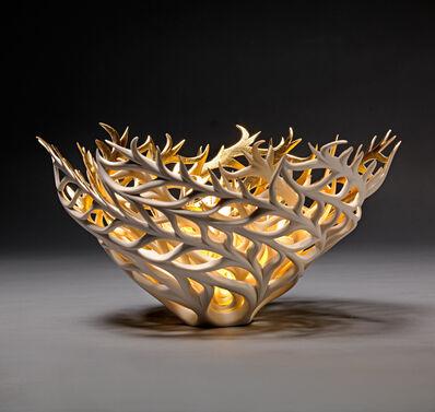 Jennifer McCurdy, 'Gilded Coral Nest', 2020